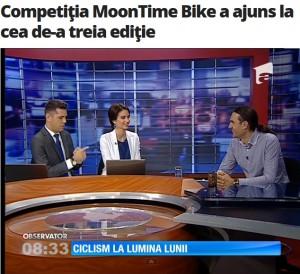 Competiţia MoonTime Bike a ajuns la cea de-a treia ediţie